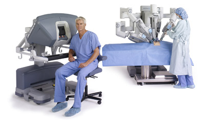 Robotic–assisted da Vinci surgery